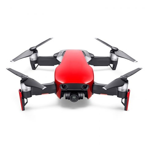Dron DJI Mavic Air Fly More Combo - Czerwony (Flame Red)