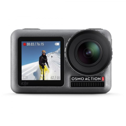 Kamera sportowa DJI Osmo Action + Charging Kit